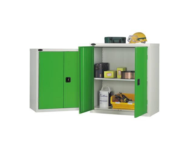 Low Industrial Cupboard Single Shelf