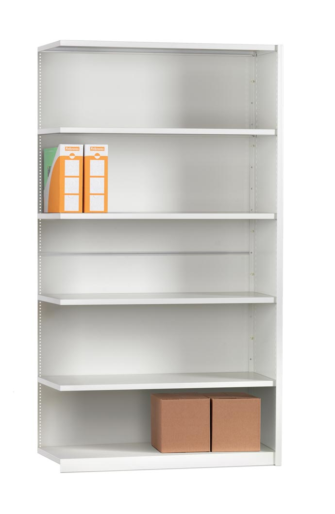 Mistral  EXTENSION BAY CLAD 6 Shelves 350mm Deep