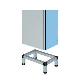 ZENBOX Aluminium Locker 150mm Support Stands