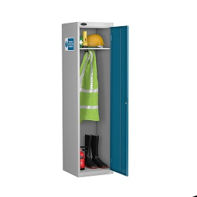 PPE Slim Standard Cupboard 3 Shelves