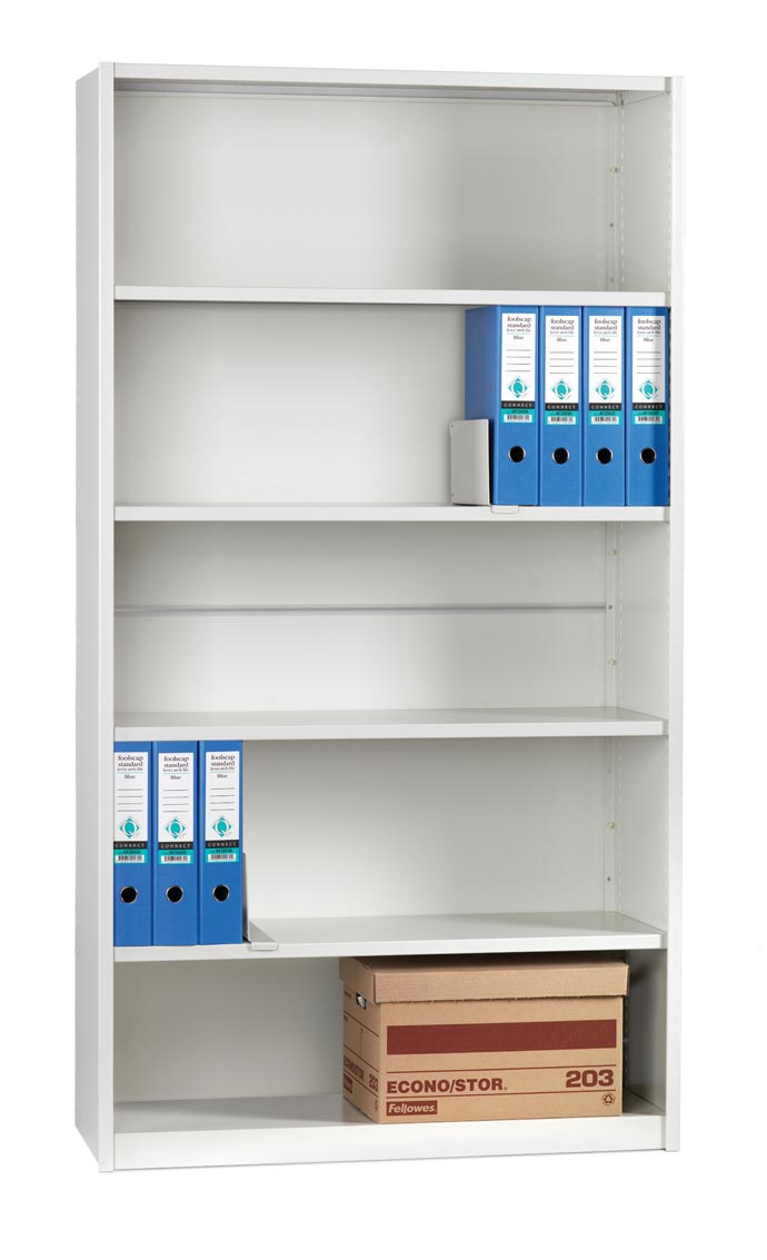 Mistral STARTER BAY CLAD 6 Shelves 350mm Deep