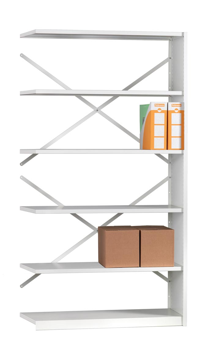 Mistral EXTENSION BAY 6 Shelves 400mm Deep