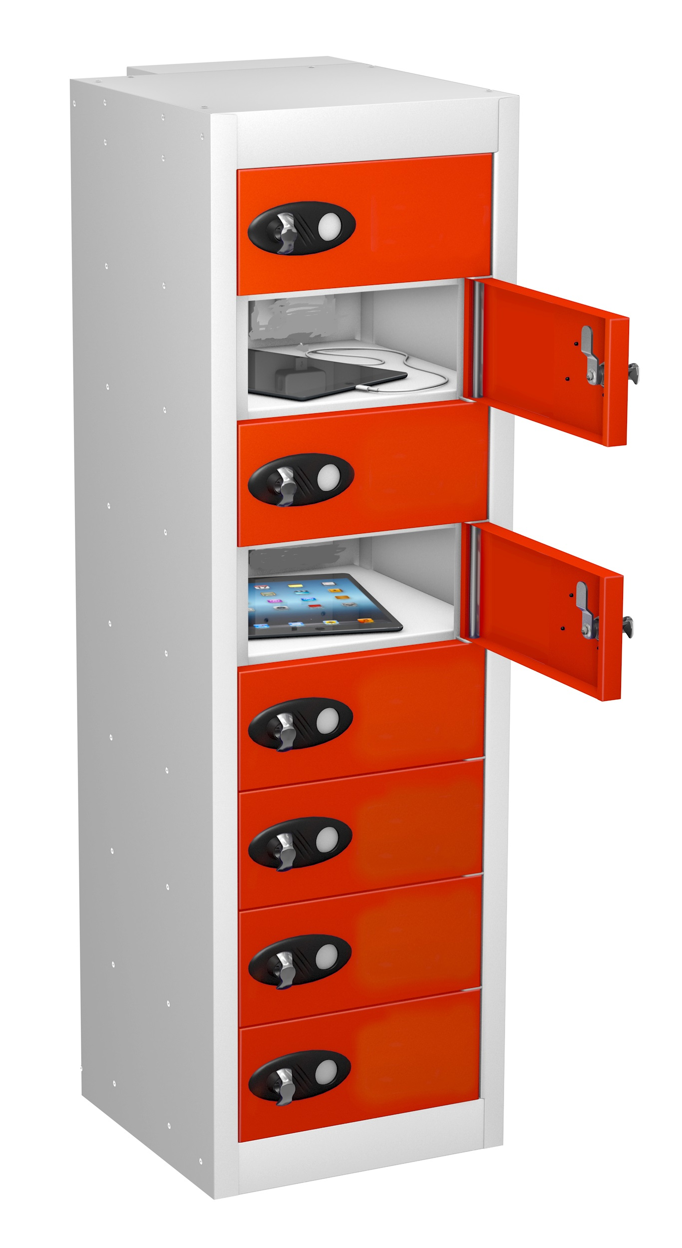 8 Door LOW Mobile Phone Locker-NON CHARGING