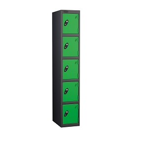 School Five Compartments Locker