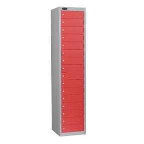 School Sixteen Compartments Lockers