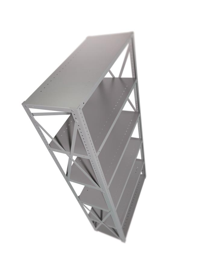 Industrial Angle STARTER BAY 6 Shelves 24 inch Depth