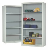 Industrial Open Front Cupboard