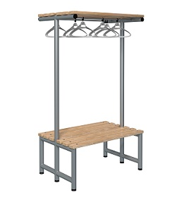 Bench 1000mm Double Side-Integrated Hanger-Type G