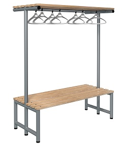 Bench 1500mm Double Side-Integrated Hanger-Type G