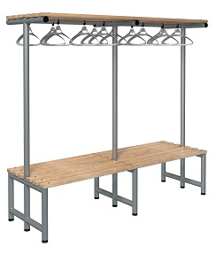 Bench 2000mm Double Side-Integrated Hanger-Type G