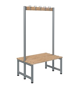 Bench 1000mm Double Side-Integrated 5 Hook  - Type D