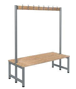 Bench 1500mm Double Side-Integrated 8 Hook  - Type D