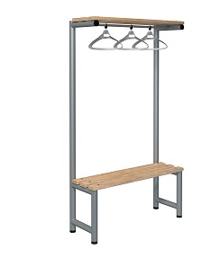 Bench 1000mm Single Side-Integrated Hanger-Type G