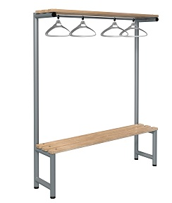 Bench 1500mm Single Side-Integrated Hanger-Type G