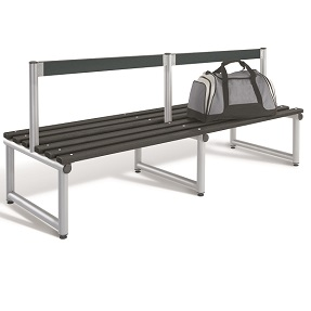 Bench 2000mm Double Side Low Back-Type C