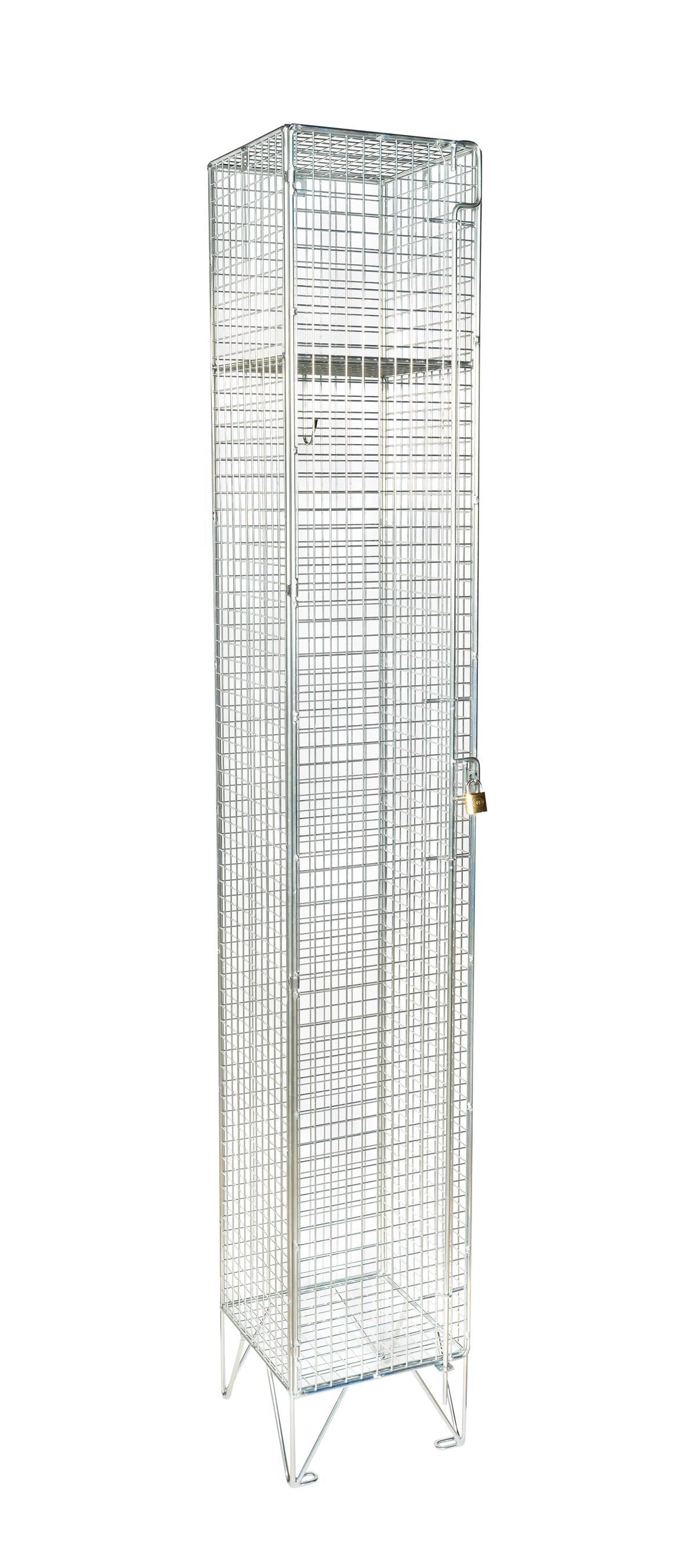 Premium Mesh Single Door Locker