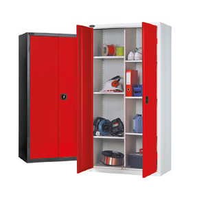 8 Compartment Industrial Cupboard 6 Shelves