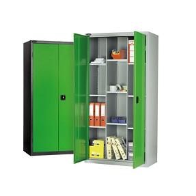 12 Comp Industrial Cupboard 9 Adj Shelves