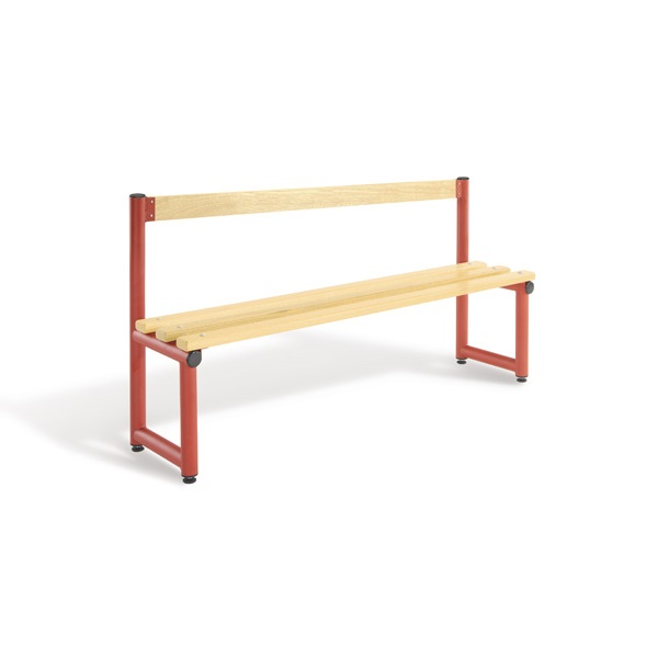 Bench 1500mm Single Side Low Back-Type C