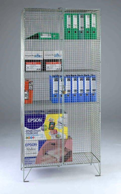 Wire Mesh Cupboard